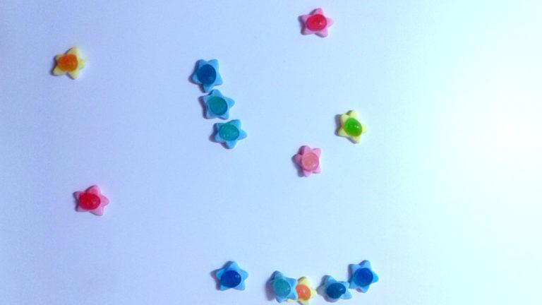 Constelación de gominolas