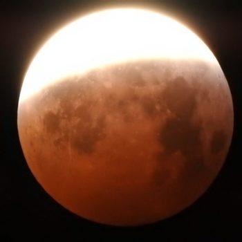 Amencer da lúa